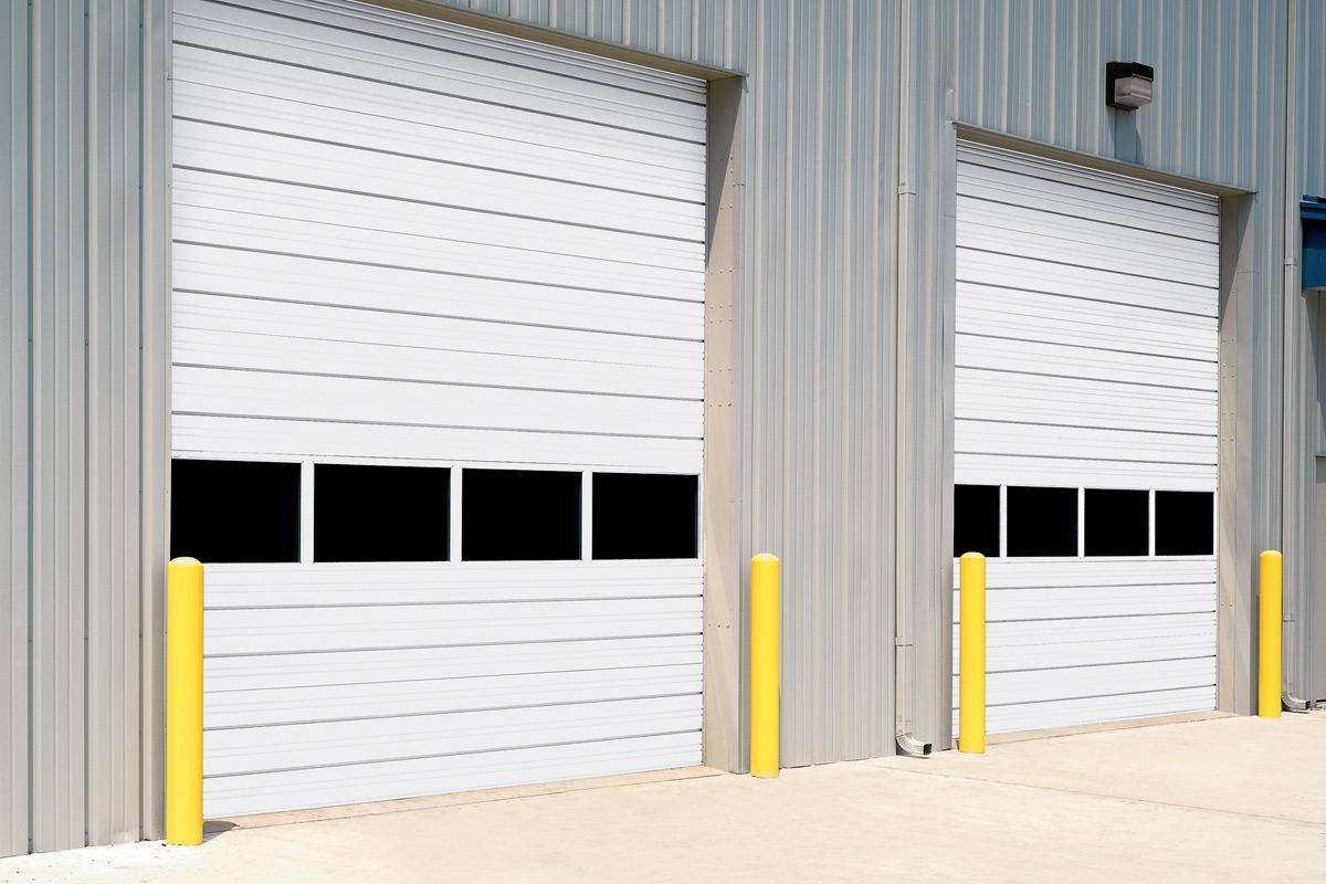 Commercial garage doors overhead door company of the desert sectional steel doors rubansaba